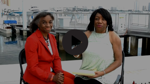 Daphne Taylor interviews Ann McNeill for South Florida Times, 2017